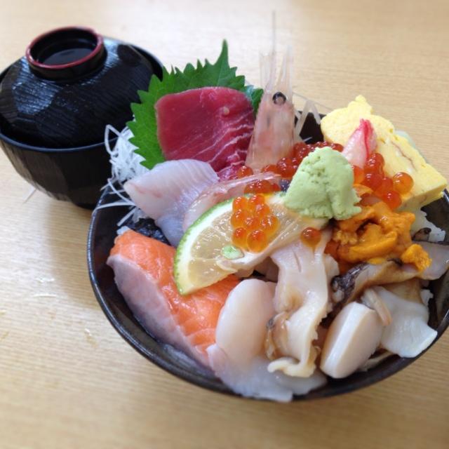 北海道海鮮丼⑤