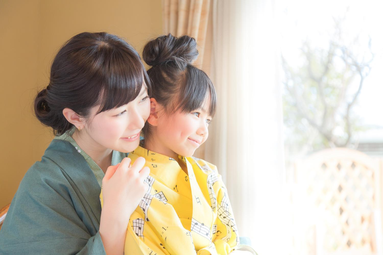 oyako yukata egao