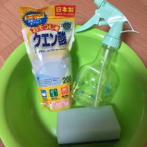 水垢やお風呂掃除にクエン酸水!作り方や汚れ落としの効果は?