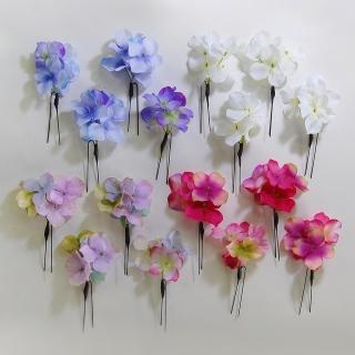 浴衣の髪飾りは手作りで簡単!100均造花でハンドメイドの作り方