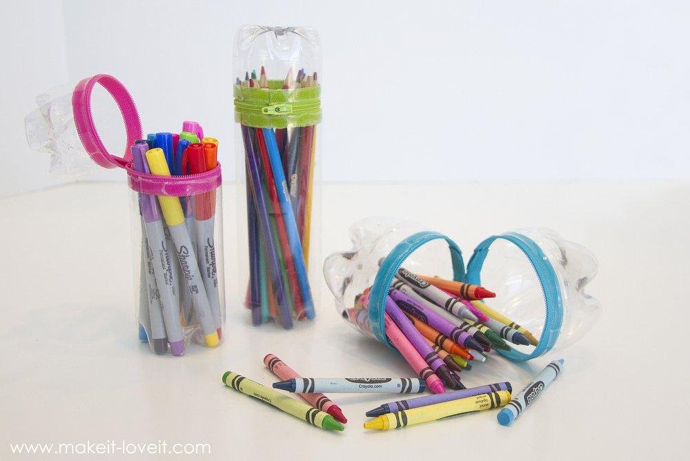 plasticbottle pencase