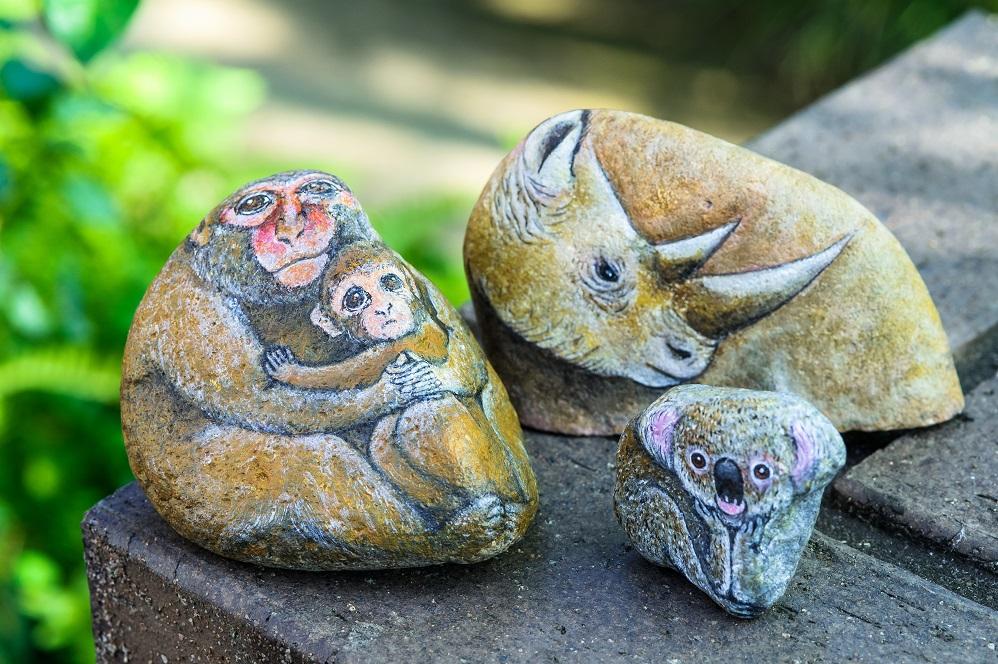 stone paint doubutu