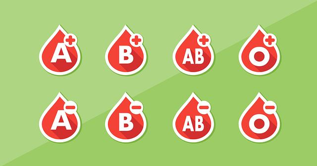 血液型のRh(+)とRh(-)の意味と違いとは?調べ方や検査方法マイナス効果について教えて!