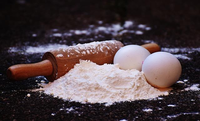 小麦粉と薄力粉・強力粉・中力粉の違いと代用できる種類はどれ?
